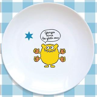Assiette plate LE JAUNE