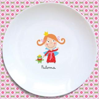 Assiette plate PRINCESSE