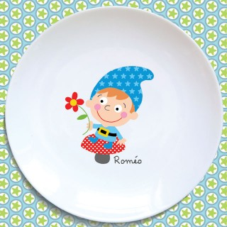 Assiette plate LUTIN