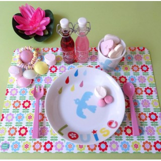 Set de table GROSSES FLEURS