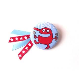 Petit badge YESS!