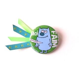 Petit badge MOI FAIM