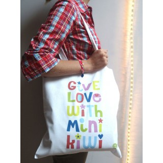 Tote bag GIVE LOVE